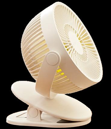 クリップ付き扇風機「MCH-A095」